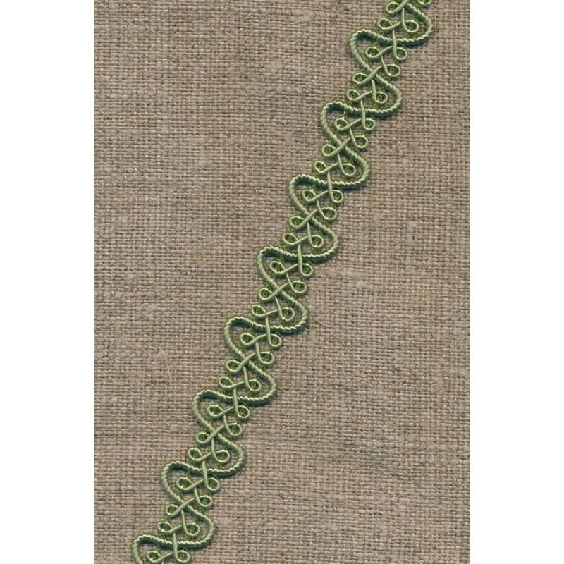 Agraman 15 mm. med buer lys støvet grøn-35