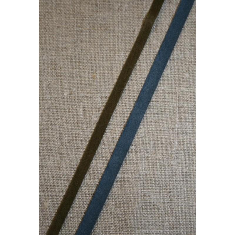 Alcantara-bånd oliven-31