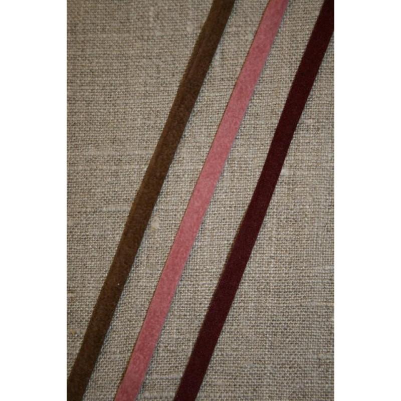 Alcantara-bånd brun-33