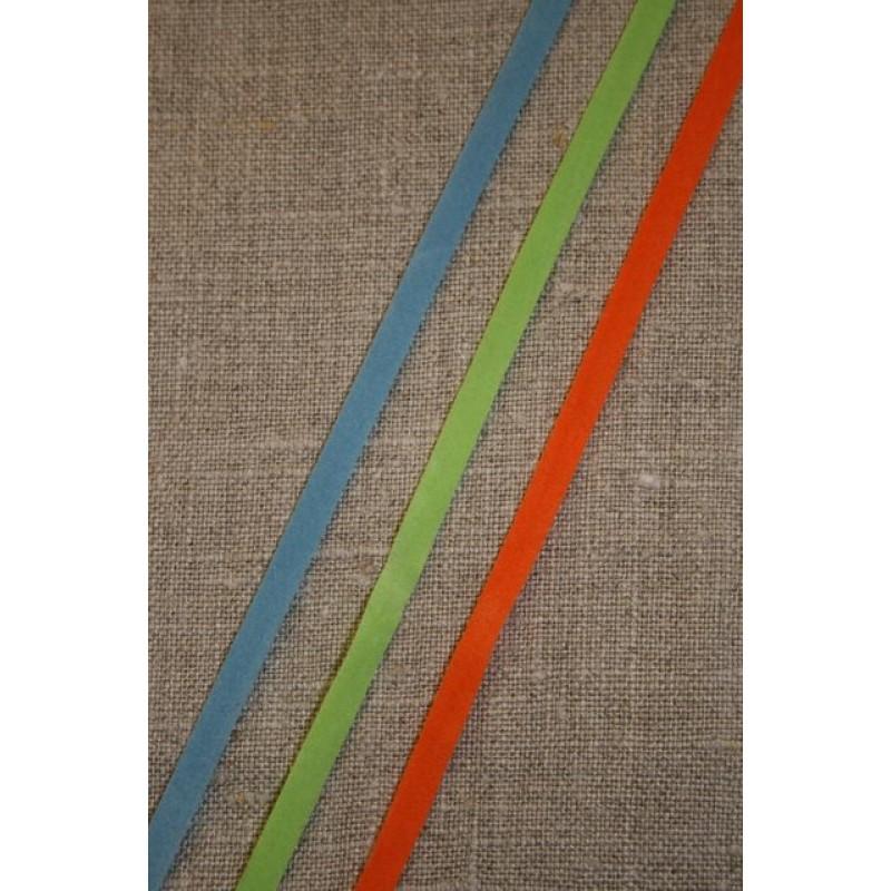 Alcantara-bånd orange