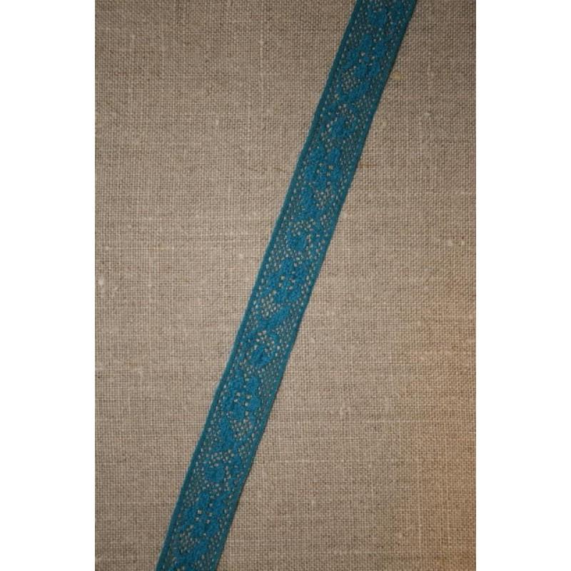 3 meter Nylonblonde 20 mm. petrol-33