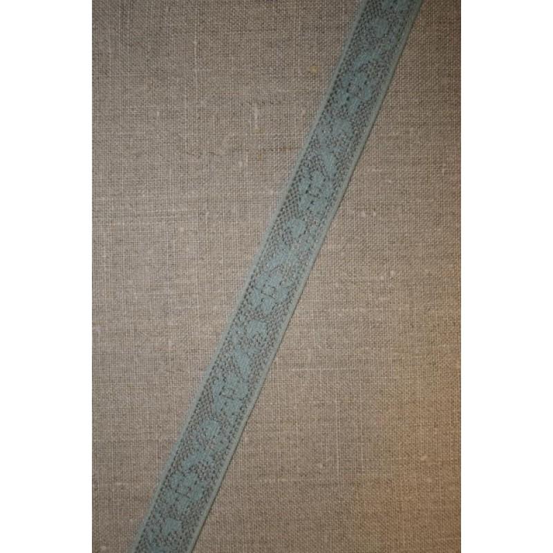 3 meter Nylonblonde 20 mm. støvet lysegrøn-33
