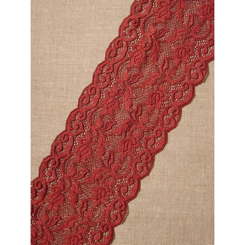 Rest Strækblonde rødbrun med guld, 32 cm.