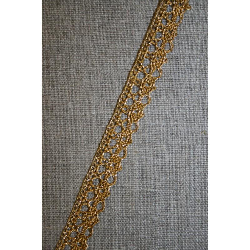 Blonde metalic 12 mm, rød-guld-35