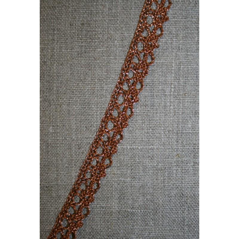 Blonde metalic 12 mm, kobber-31