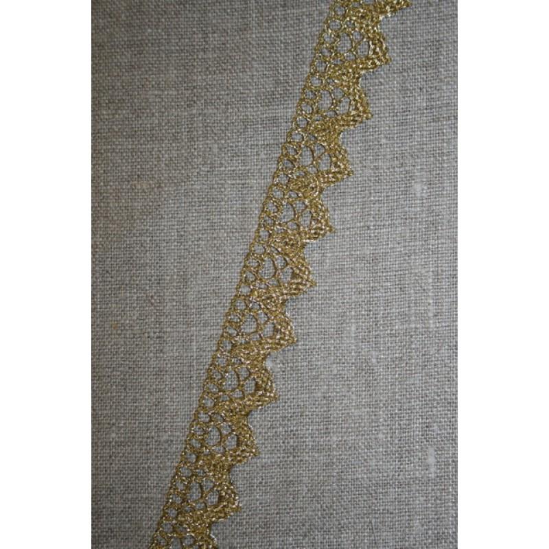 Rest Blonde metalic 20 mm, guld- 80 cm.