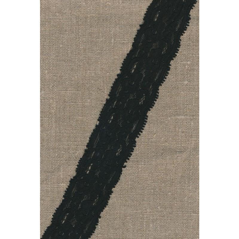 Strækblonde 40 mm. sort-35