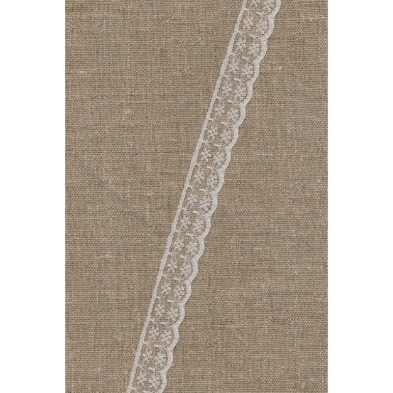 Nylonblonde hvid 20 mm.-32