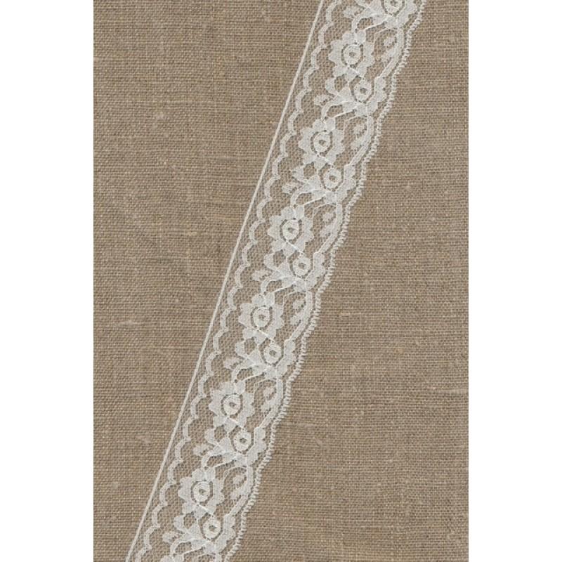 Nylonblonde hvid 40 mm.-33