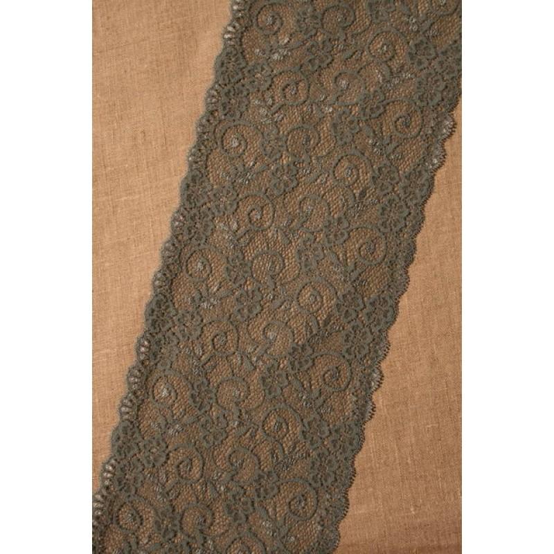 Rest Strækblonde støvet grøn 15 cm, 25 cm.