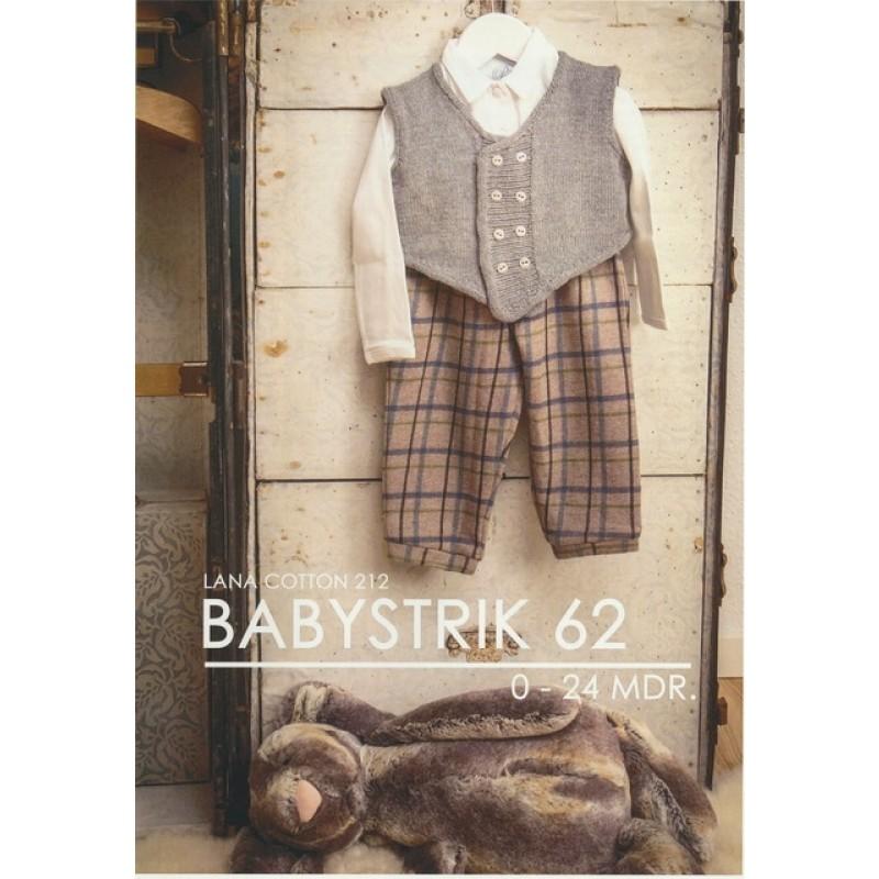 Hæfte Baby no. 62 Lana Cotton