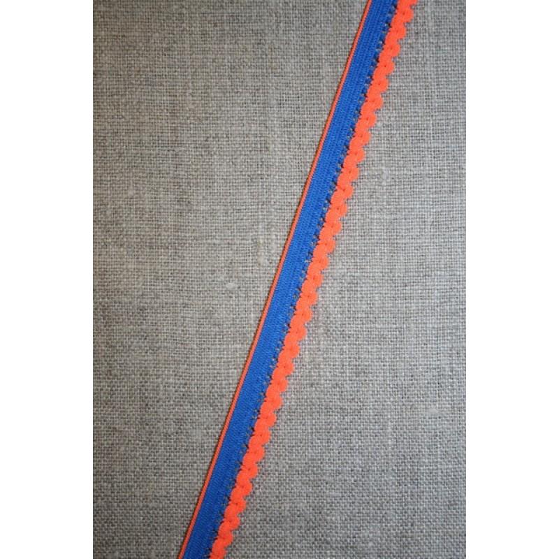 Kantelastik 2-farvet blå orange-31