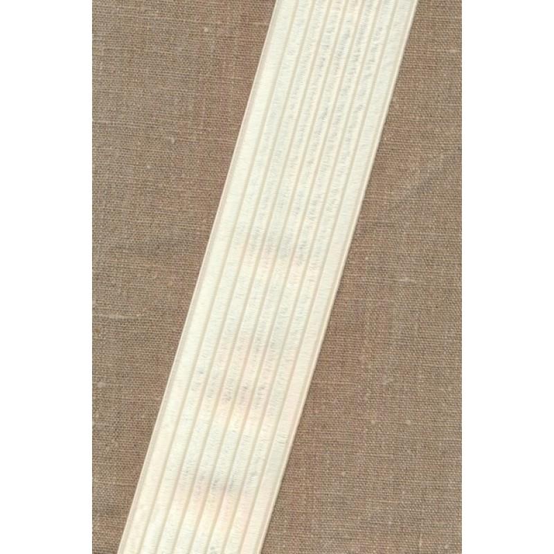 Elastik til bælter 60 mm. offwhite-35