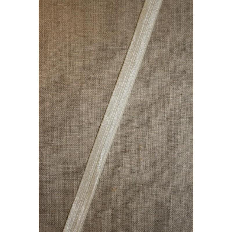Foldeelastik smal off-white