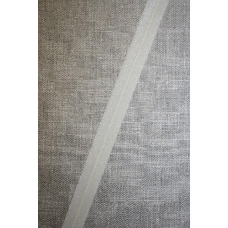 Foldeelastik tynd, off-white