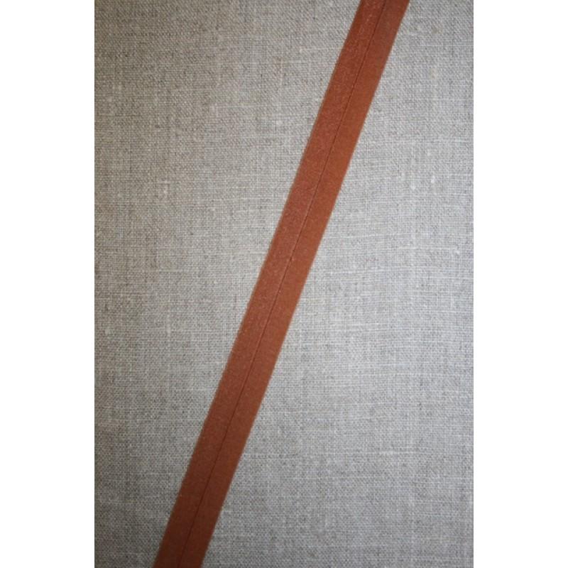 Foldeelastik tynd, rød-brun