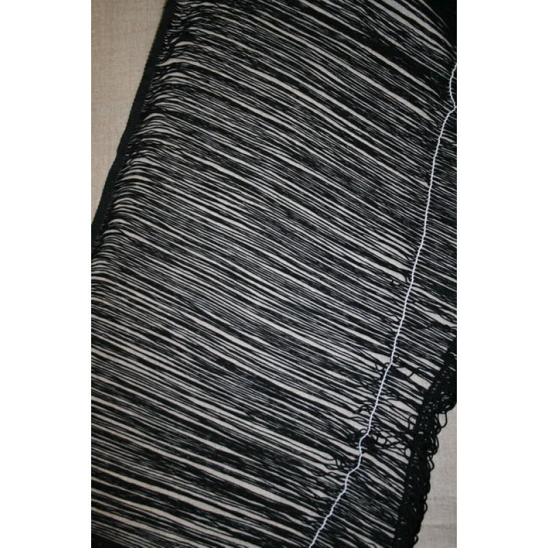 Frynsebånd 50 cm. sort-33