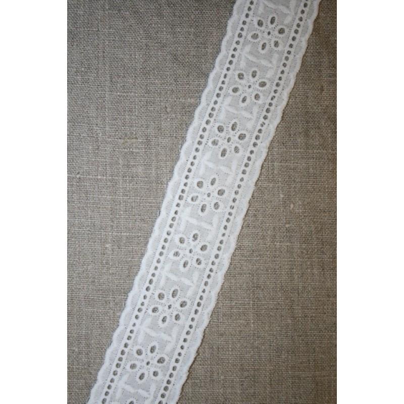 Feston hvid 40 mm mellemværk
