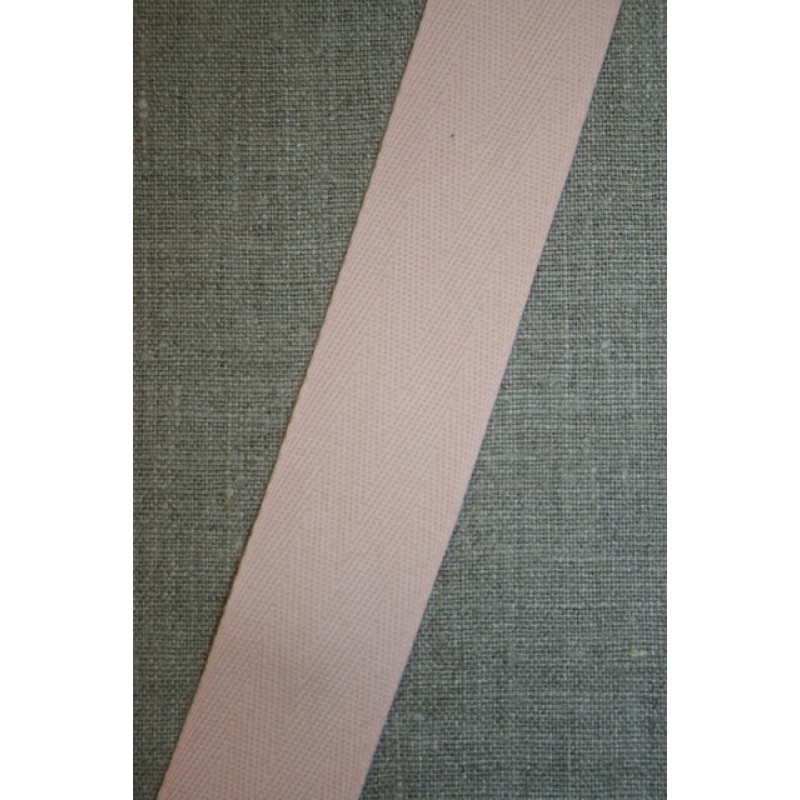 Gjordbånd 32 mm. lys laks-33