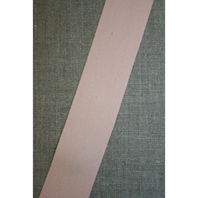 Gjordbånd 32 mm. lys laks