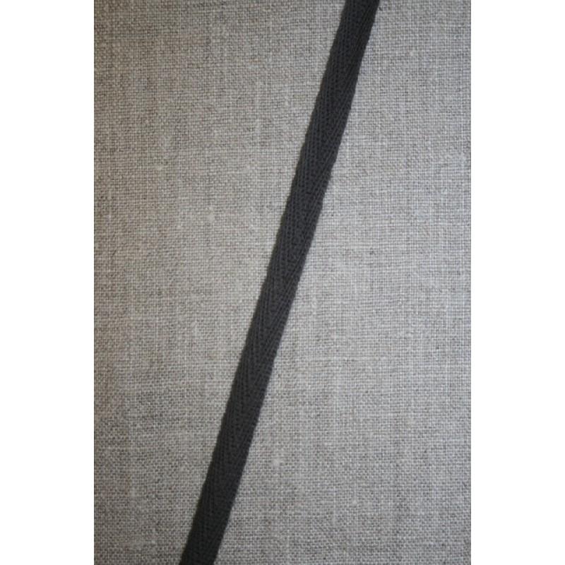 Rest Gjordbånd grå-brun 9 mm. 2.sort, 340 cm.-33