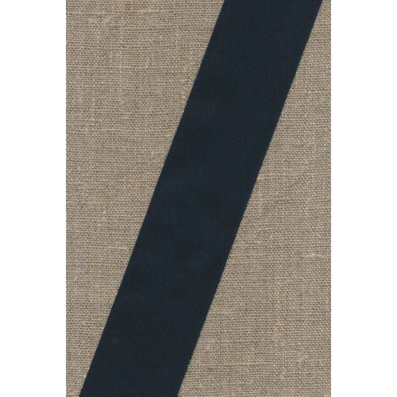 Bomuldsbånd - Gjordbånd 40 mm. sort