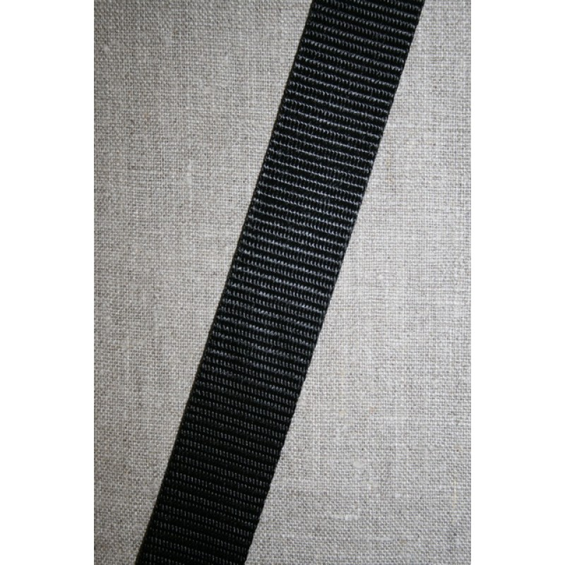 Nylon gjordbånd 40 mm. sort-35
