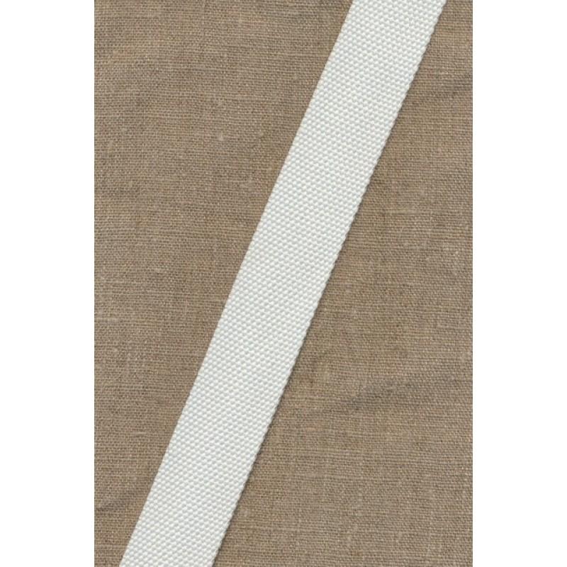 Kraftig gjordbånd 30 mm. hvid