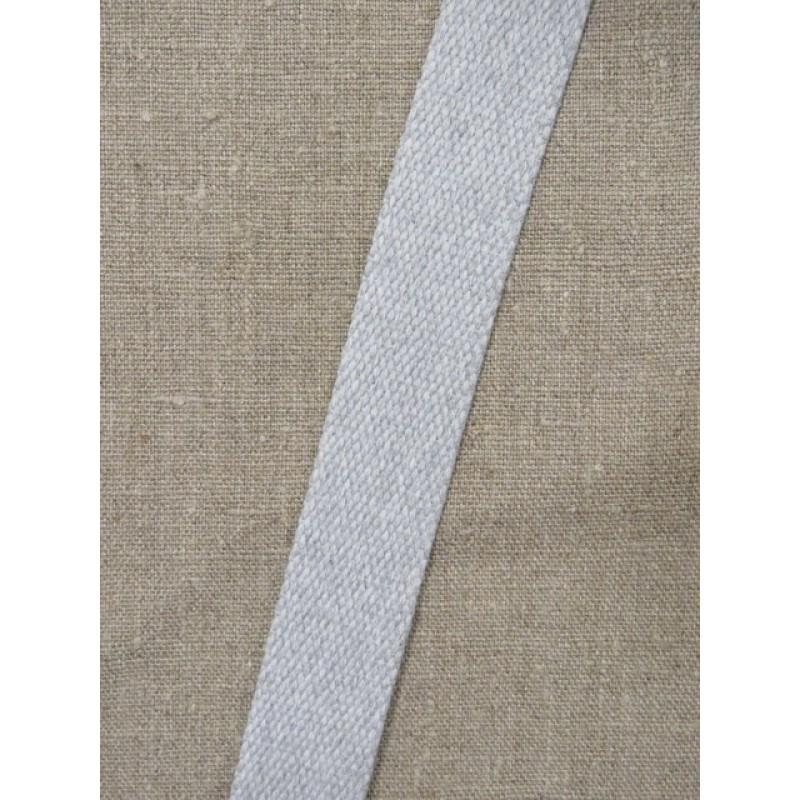 Kraftig gjordbånd 30 mm. meleret lysegrå-312