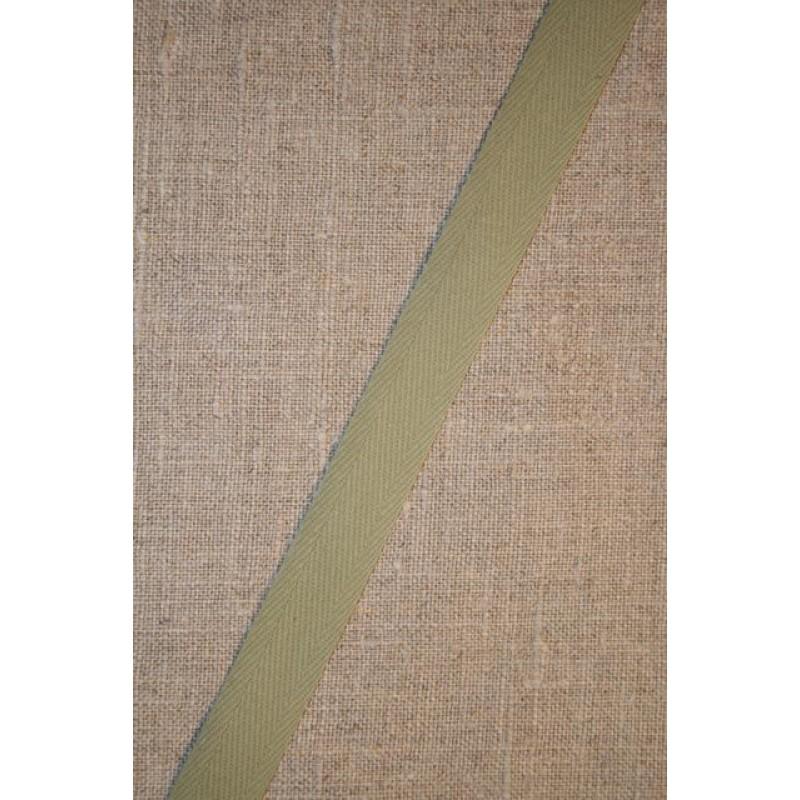 Gjordbånd 15 mm. lys oliven-31
