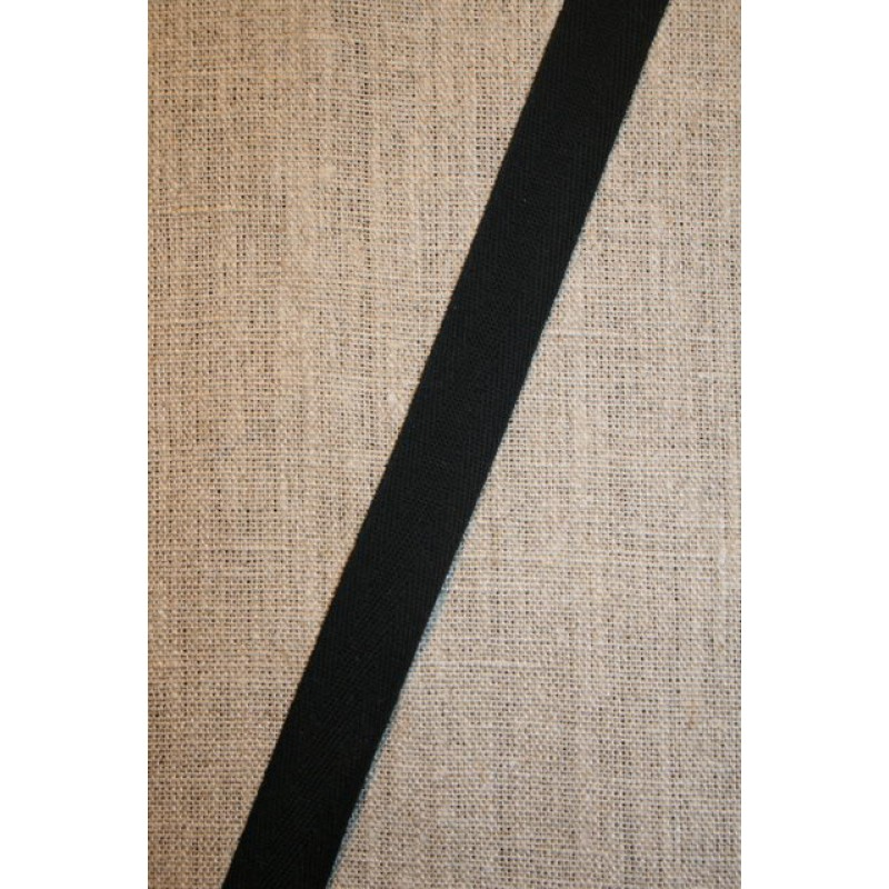 Bomuldsbånd/Gjordbånd sort, 20 mm.-31