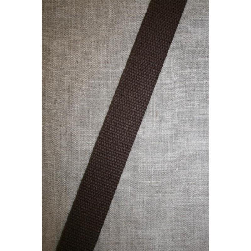 Rest Kraftig gjordbånd 35 mm. brun 315 cm. m/fejl