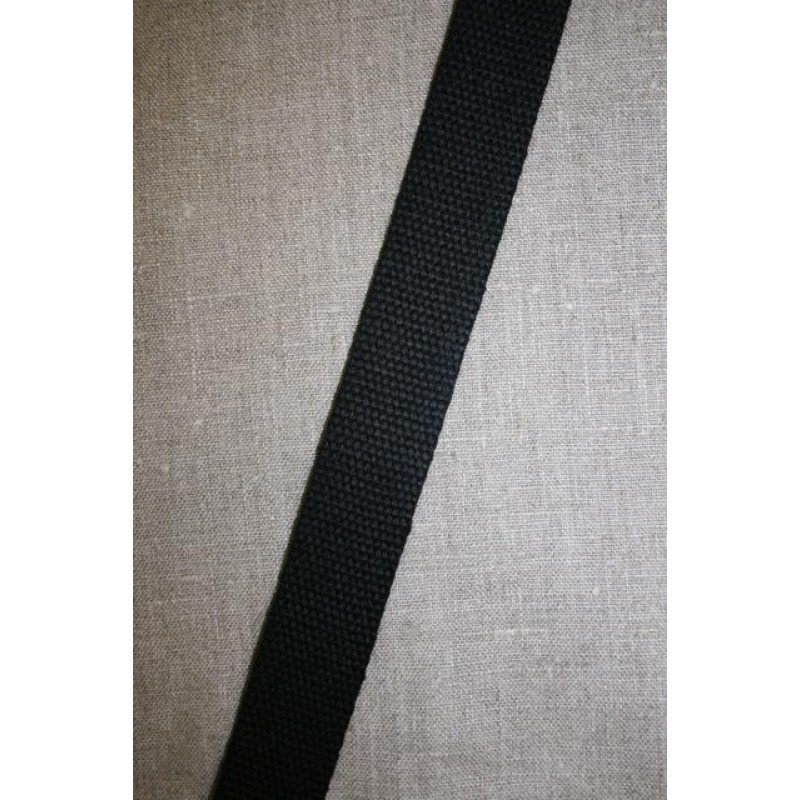 Rest Kraftig gjordbånd 30 mm. sort, 100 cm.-31