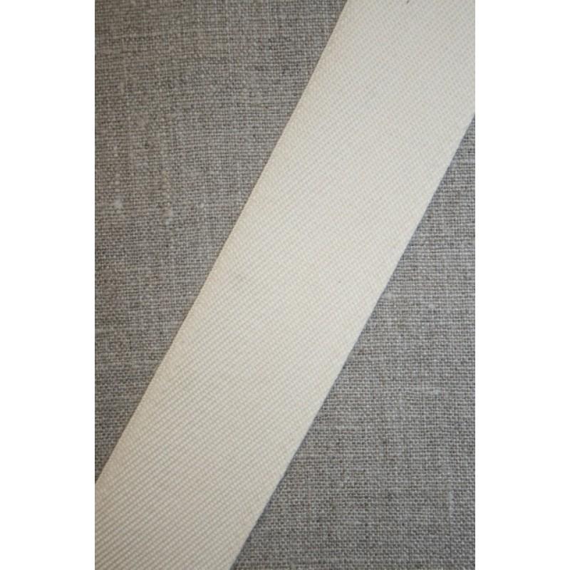 Gjordbånd off-white 40 mm.