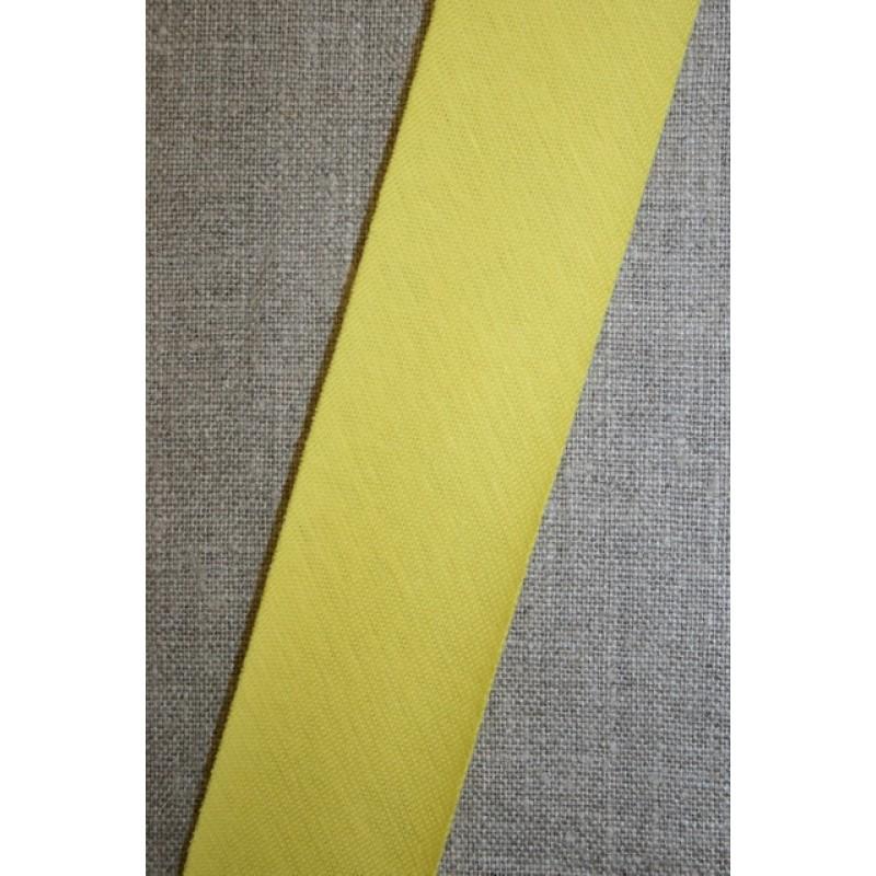 Kantbånd skråbånd i jersey, lys gul-33