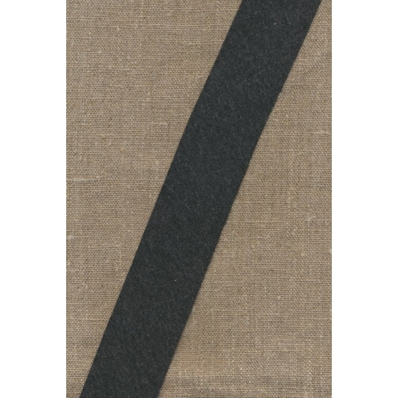 Kantbånd skråbånd i jersey, koksgrå-meleret-31