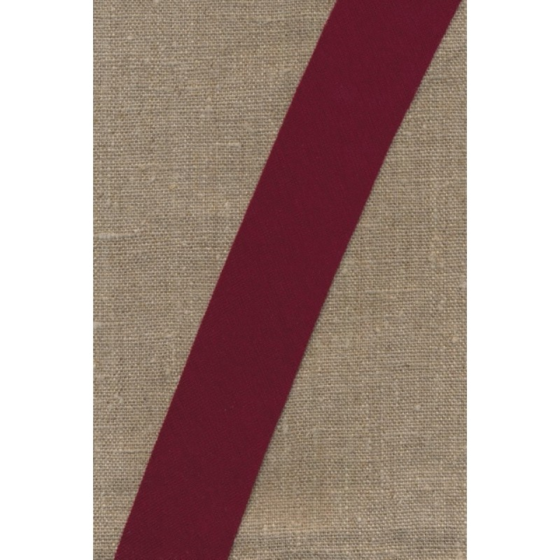 Kantbånd skråbånd i jersey, bordeaux-31
