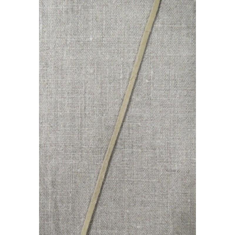 Ruskind snøre 3 mm. natur