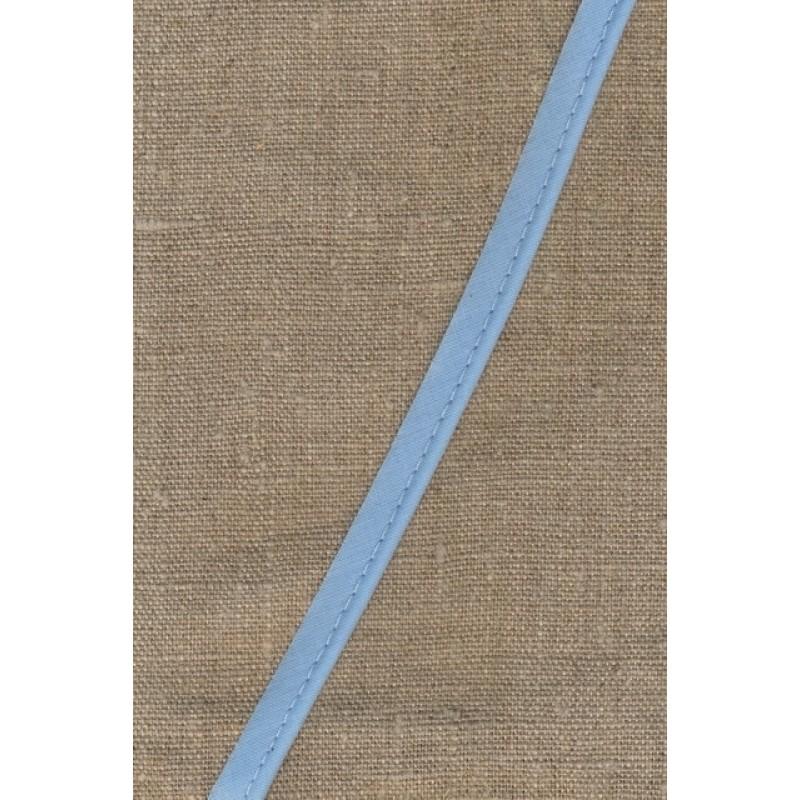Paspoil-/piping bånd i bomuld, babylyseblå-31