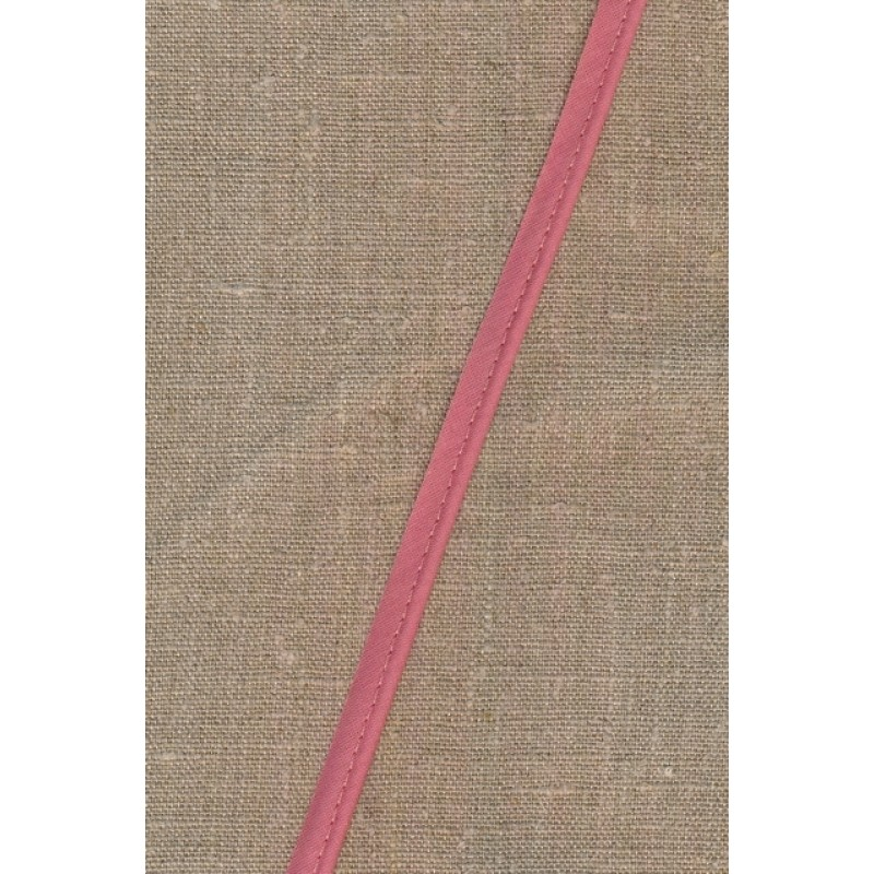 Paspoil-/piping bånd i bomuld, gammel rosa-32