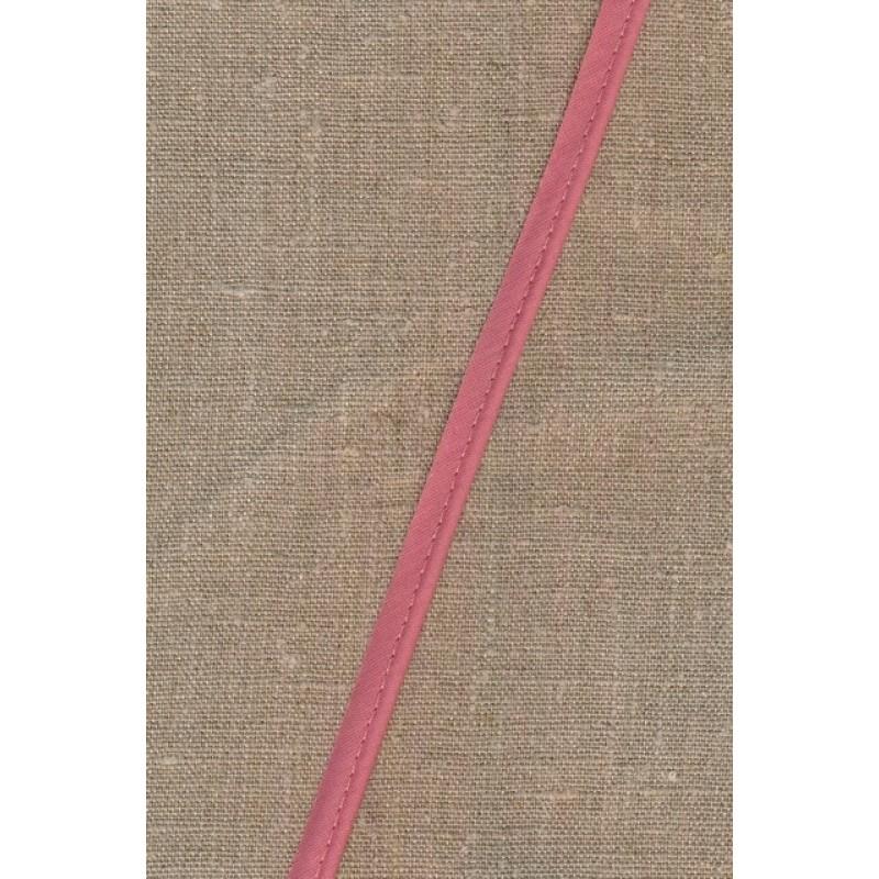 Paspoil-/piping bånd i bomuld, gammel rosa