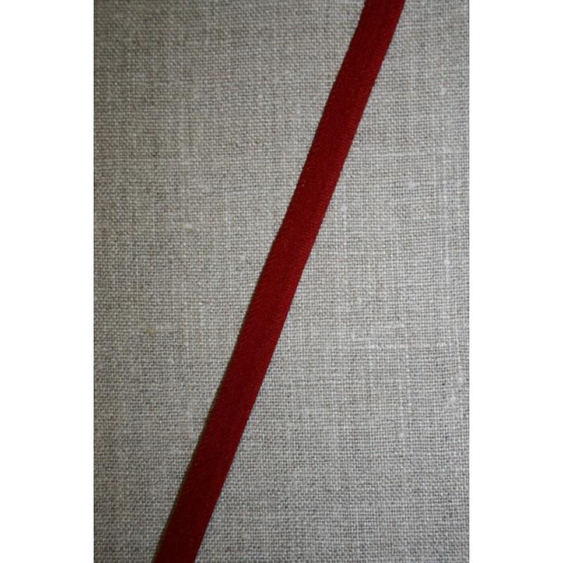 Elastisk Paspoil/piping-bånd mørk rød-33