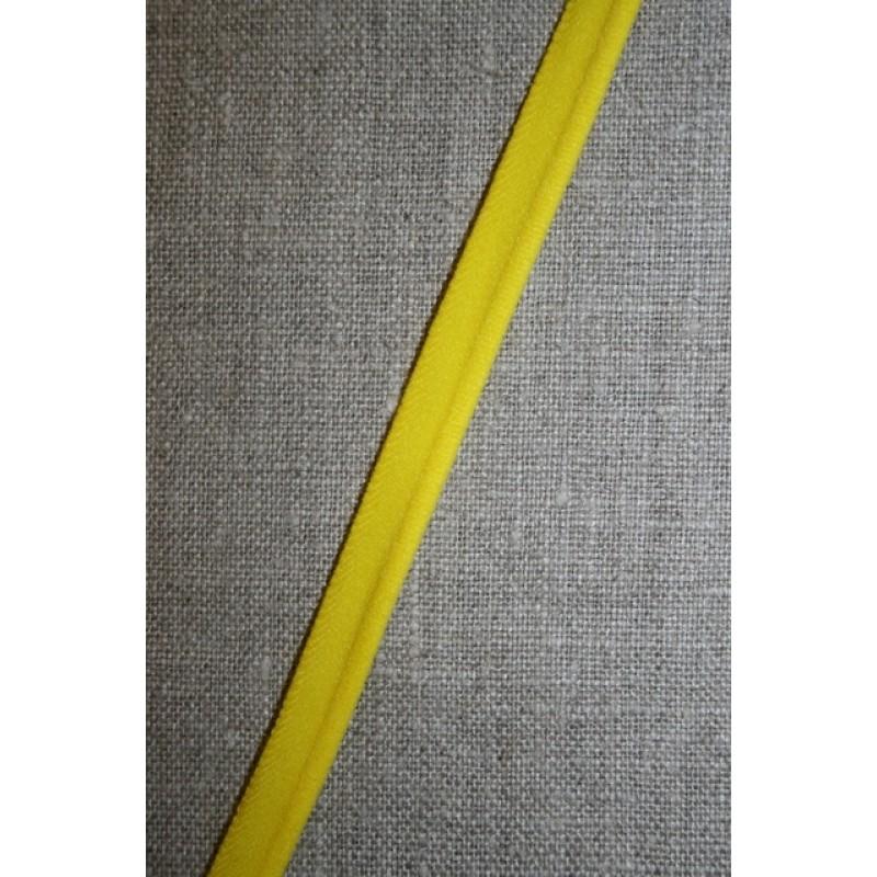 Elastisk Paspoil/piping-bånd gul-34
