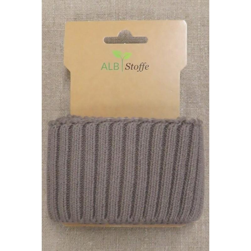 Ribkant groft look lys grå-brun 70 mm x 110 cm.