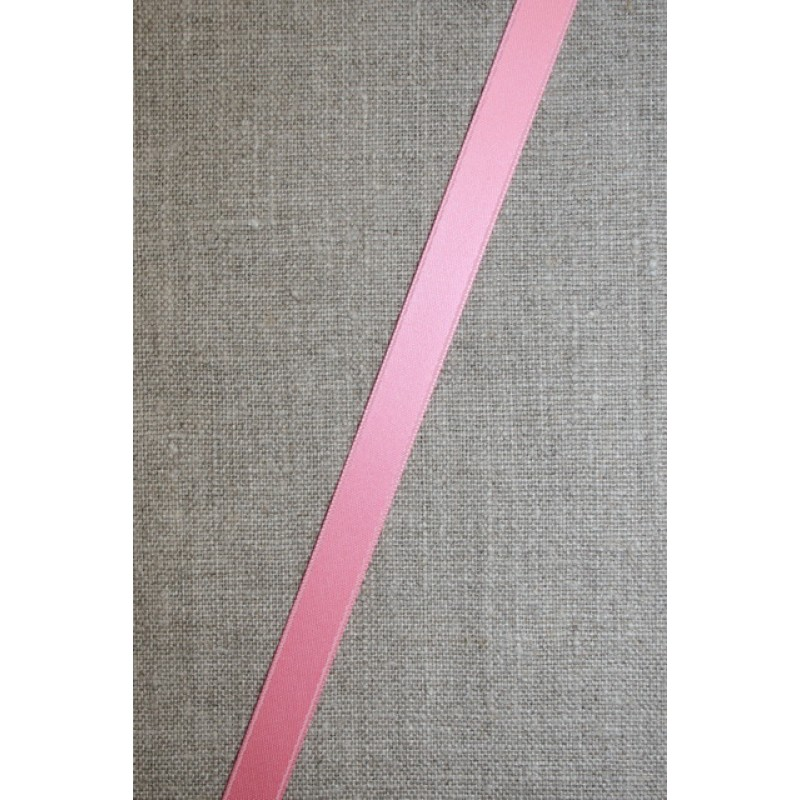 Satinbånd lyserød 10 mm.-31