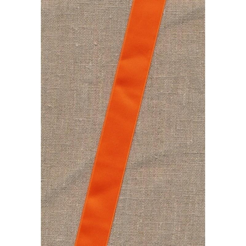 Rest Satinbånd orange 25 mm. 89 cm.