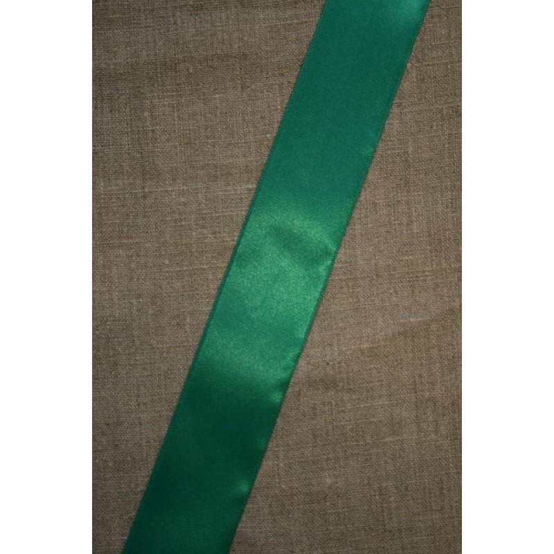 Satinbånd grøn-smaragd 38 mm.-31