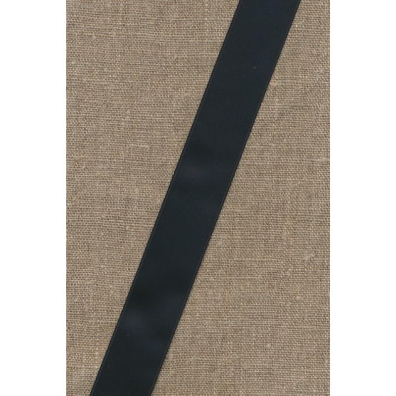 Satinbånd sort 25 mm.-35