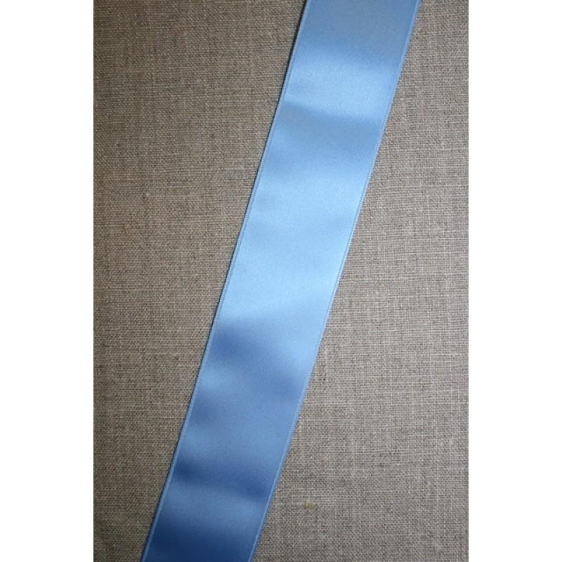 Satinbånd 10+40 mm. lyseblå-31
