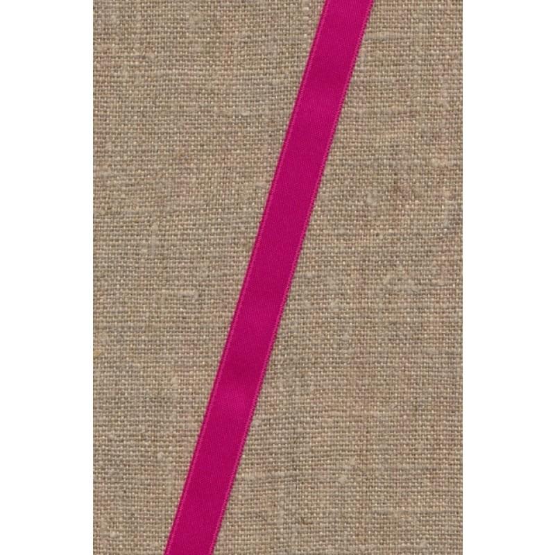 Satinbånd mørk pink 10 mm